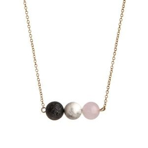 Jewelry - Triple Stone Diffuser Necklace